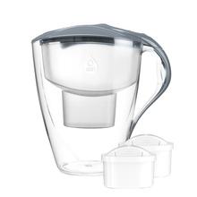 Dafi - Omega 4l Water Pitcher + 2 Unimax Filters - Steel