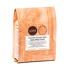 Kaffe 2009 - Colombia Excelso Huila Swiss Water Decaf