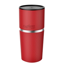 Cafflano Klassic - All in One Coffee Maker - Red (outlet)
