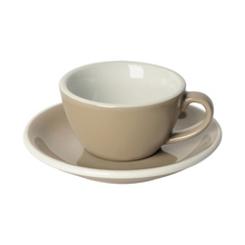 Loveramics Egg - Flat White 150 ml Cup and Saucer  - Taupe