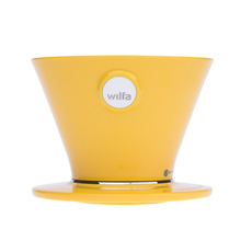 Wilfa Pour Over Red - WSPO-R - Yellow Dripper