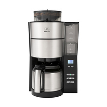 Melitta Aromafresh Therm Black - Filter Coffee Machine with Grinder