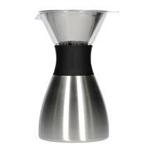 Asobu - Pourover Insulated Coffee Maker - Silver / Black