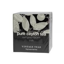 Vintage TeasPure Ceylon Tea - Black Tea Earl Grey FBOP1 70g