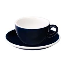 Loveramics Egg - Flat White 150 ml Cup and Saucer  - Denim