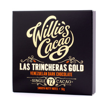 Willie's Cacao - 72% Las Trincheras Gold 50g