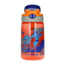 Contigo Gizmo Flip Nectarine Superhero Water Bottle