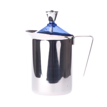 G.A.T. Fantasia Cappuccino - 600 ml Manual Milk Frother  - Blue