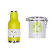 Set: Asobu Travel Bottle + Teapigs Apple & Cinnamon Tea
