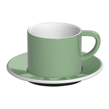 Loveramics Bond - 150 ml Cappuccino cup and saucer - Mint