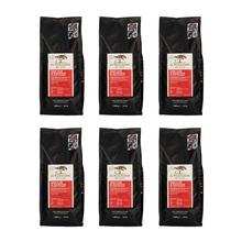 Set: Le Piantagioni del Caffe San Luis & Raigode 1kg 5 + 1 Free