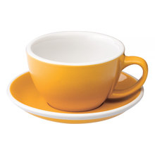 Loveramics Egg - Cafe Latte 300 ml Cup and Saucer  - Yellow
