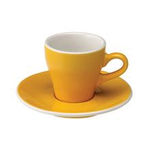 Loveramics Tulip - Cup and saucer - Espresso 80 ml - Yellow