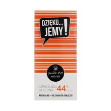 Manufaktura Czekolady - Chocolate 44% DZIĘKU...JEMY!