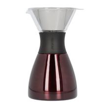 Asobu - Pourover Insulated Coffee Maker - Red / Black