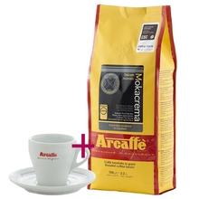 Set: Arcaffe Mokacrema 1kg + Cappuccino Cup and Saucer