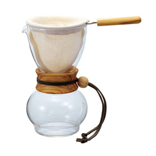 Hario Drip Pot Olive Wood - 240ml (outlet)