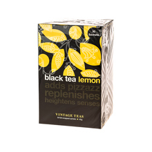 Vintage Teas Black Tea Lemon - 30 teabags