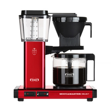 Moccamaster KBG 741 Select - Metallic red - Filter Coffee Maker (outlet)