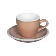 Loveramics Egg - Espresso 80 ml Cup and Saucer - Rose