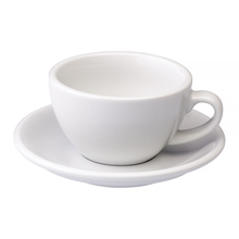 Loveramics Egg - Cappuccino 200 ml Cup and Saucer  - White