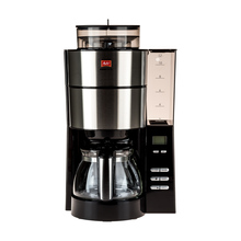 Melitta Aromafresh Black - Filter Coffee Machine with Grinder