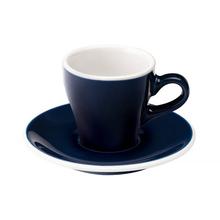 Loveramics Tulip - Cup and saucer - Espresso 80 ml - Denim