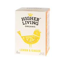 Higher Living Lemon & Ginger - tea - 15 teabags
