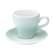 Loveramics Tulip - Cup and saucer - Cafe Latte 280 ml - River Blue