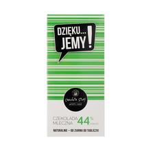 Manufaktura Czekolady - Chocolate 44% DZIĘKU...JEMY! - Green Pack