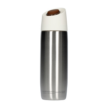 Asobu - 5th Avenue Coffee Tumbler Silver - 390ml Travel Mug