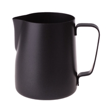 Rhinowares Stealth Milk Pitcher - Black - 360 ml
