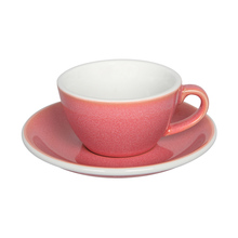 Loveramics Egg - Flat White 150 ml Cup and Saucer  - Berry