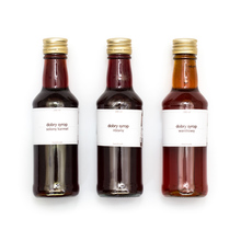 Set: Mount Caramel - 3 Syrups