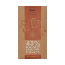 Manufaktura Czekolady - Chocolate 43% MANU - Gingerbread