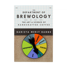 Department of Brewology - Brew Spinner Pin