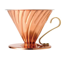 Hario V60-02 Metal dripper - gold