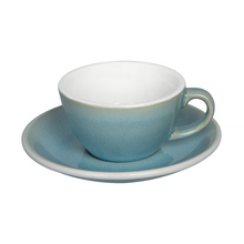 Loveramics Egg - Flat White 150 ml Cup and Saucer  - Ice Blue