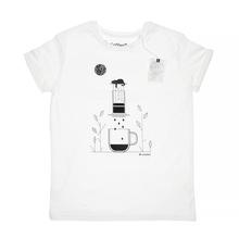 Coffeedesk AeroPress Men's White T-shirt - M