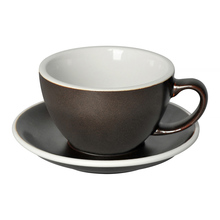 Loveramics Egg - Cafe Latte 300 ml Cup and Saucer  - Gunpowder
