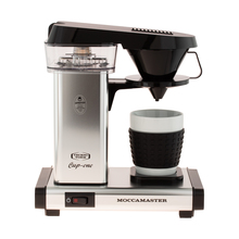 Moccamaster Cup-One Coffee Brewer Polished Silver - Filter Coffee Machine
