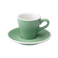 Loveramics Tulip - Cup and saucer - Espresso 80 ml - Mint
