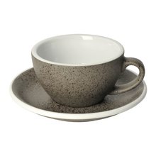 Loveramics Egg - Cappuccino 200 ml Cup and Saucer - Granite