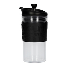 Bodum Travel Press Set With Extra Lid - 350 ml - Black