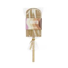 HAYB x Manufaktura Czekolady - Lollipop - Caffe Latte - 30 g