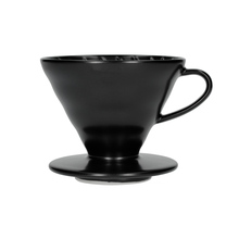 Hario V60-02 Ceramic Coffee Dripper Matt Black