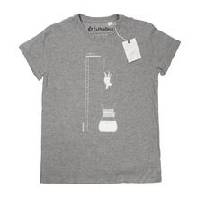 Coffeedesk Chemex Men's Grey T-shirt - L