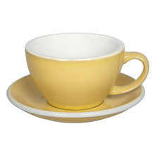 Loveramics Egg - Cafe Latte 300 ml Cup and Saucer  - Butter Cup