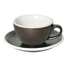 Loveramics Egg - Cappuccino 200 ml Cup and Saucer  - Gunpowder