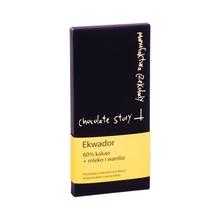Manufaktura Czekolady - Chocolate 60% cocoa from Ecuador - vanilla and milk